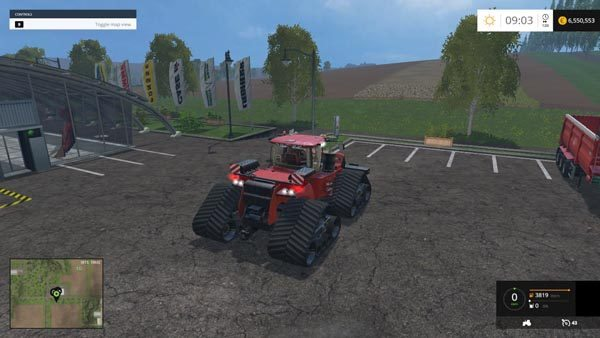 Case IH Quadtrac 1450 1