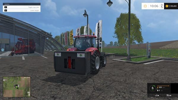 Case IH weight 3000 KG v 1.0 [MP] 1