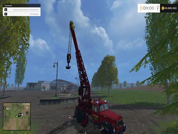 Firemen crane v 0.1 [MP] 2
