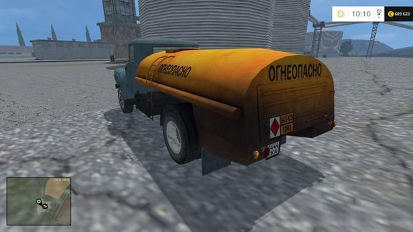 ZIL 130 fuel truck v 1.0 [MP] 2
