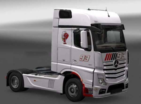 Mercedes Actros MP4 2014 MM93 Skin