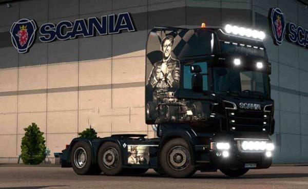 Scania RJL 1.4 F1 Legends Airbrush Skin