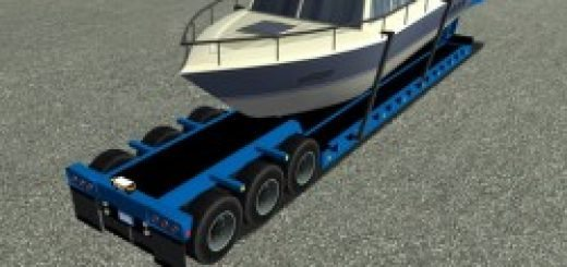 Yacht Trailer for ETS