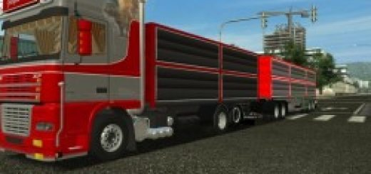 DAF XF 95 combo for GTS