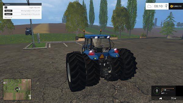 NEW HOLLAND T8020 v 4.5 1