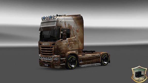 Scania Streamline Hors Skin