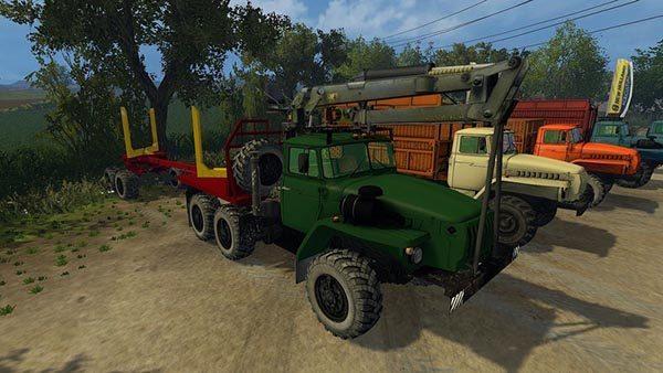 Ural Fahrzeug Set v 2.15 [MP] 1