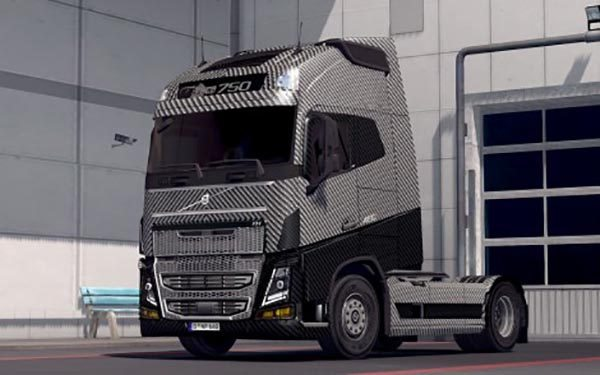 V8 5 series skin for scania rjl