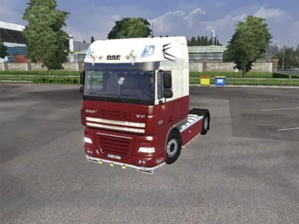 Daf 50K Custom No1 skin