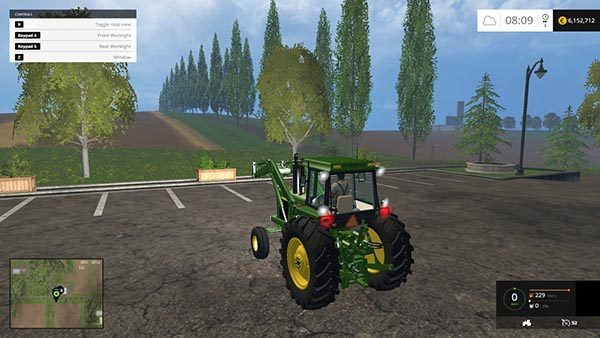John Deere 4455 WITH FLUPACK v 1.0 1