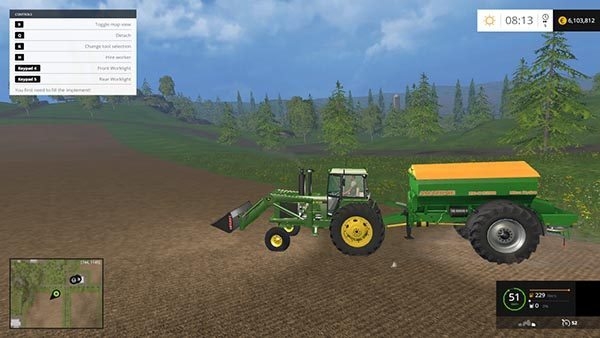 John Deere 4455 WITH FLUPACK v 1.0 2