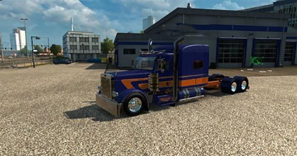Carbon v8 skin for scania streamline truck reanimators