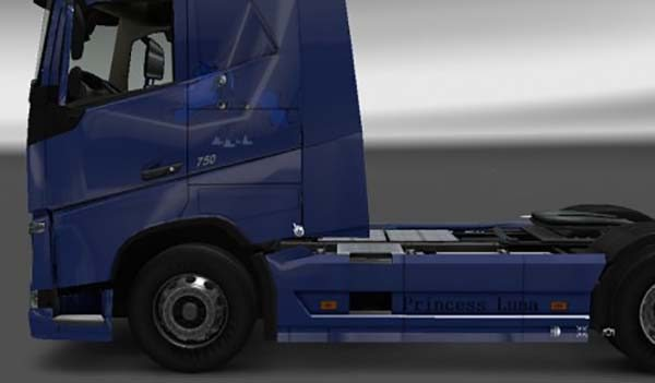 Volvo FH 2012 My Little Pony Friendship is Magic Princess Luna Skin
