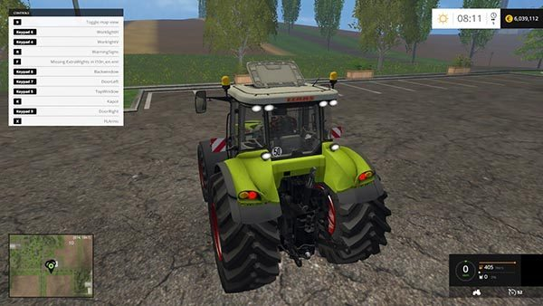 CLAAS AXION 850 v 3.5 1