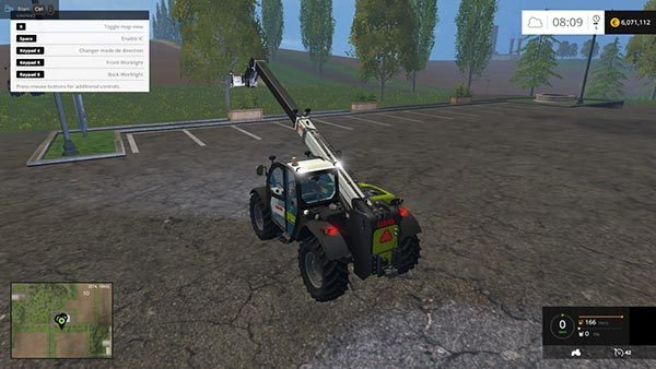 CLAAS SCORPION 7044 v 3.0 1