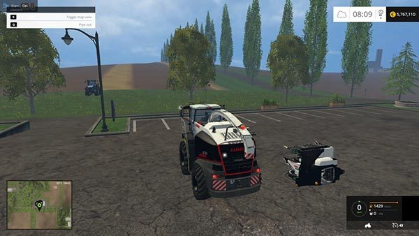 Claas Jaguar 870 Black Edition 1