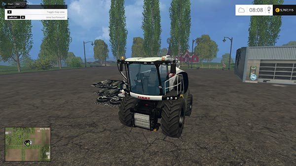 Claas Jaguar 870 Black Edition