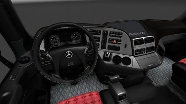 Mercedes actros 2009 interior