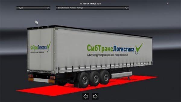 Sib Trans Logistic Trailer