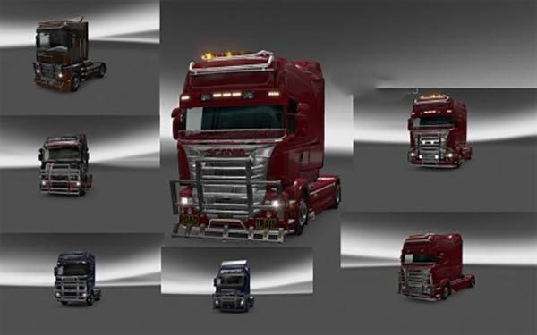 Tuning For Standart Truck & Scania R700 Scania RS Scania T Sisu