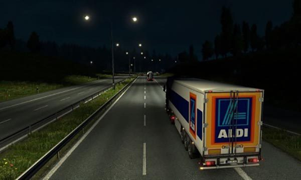 Aldi Logistics International Trailer