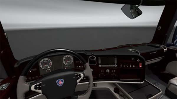 Scania Streamline Lux Interior v8