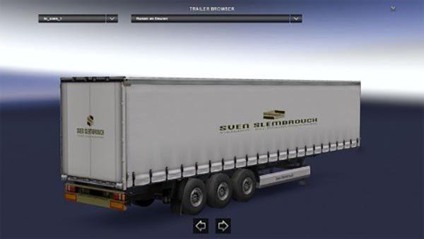 Sven slembrouck windows and doors trailer skin