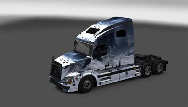 Volvo VNL 670 Snowy Mountains Skin