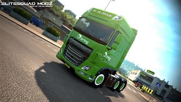 W. de Zeeuw Transport DAF XF truck