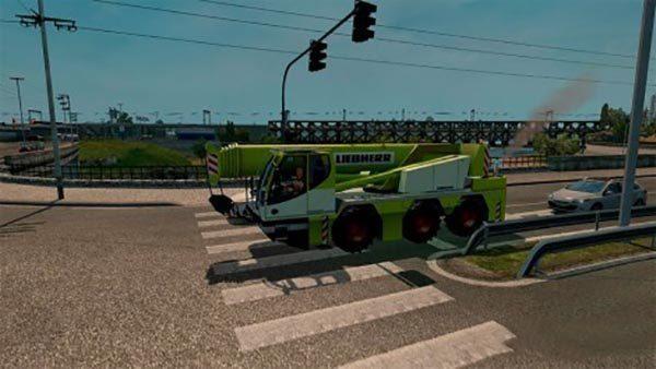 AI Traffic cranetruck