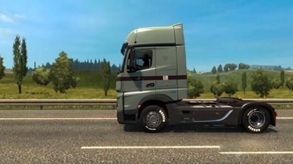 Camion Transport Mercedes Actros 2014 v 2.2