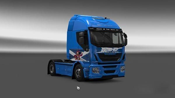 Iveco Hi Way Scotland Skin