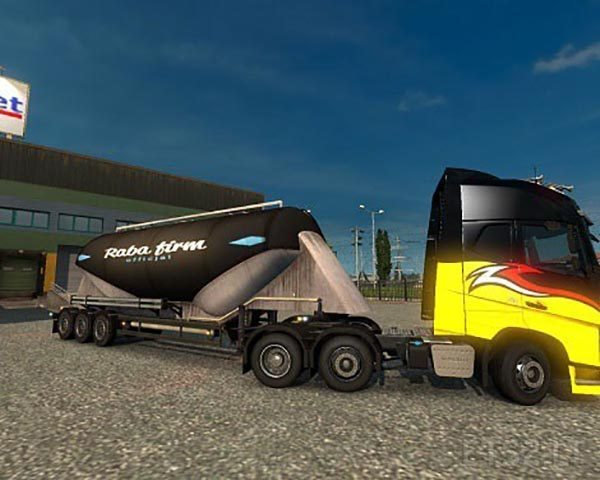 Raba Firm Trailer Skin