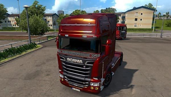 Scania RJL Metallic Paintjob