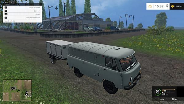 UAZs and trailers for cars v 1.0 [MP] 0
