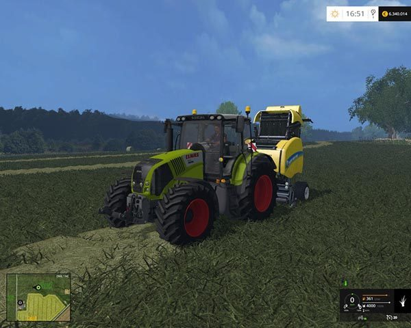 Claas Axion 850 v 1.3 [MP] 1