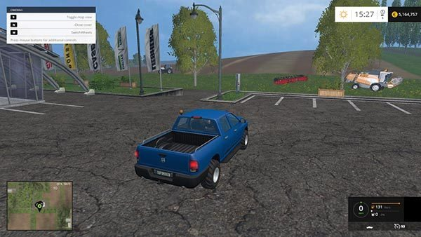 Dodge Ram Pickup with passenger Script v 1.0 [MP] 1