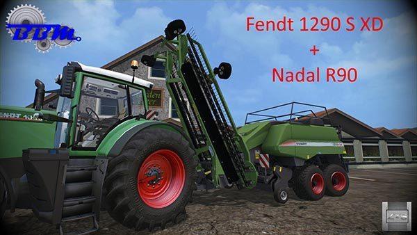 Fendt 1290 S XD + Nadal R90 v 1.0