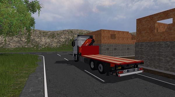 Mercedes Benz Actros mp4 plateau v 1.0 [MP] 1