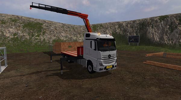 Mercedes Benz Actros mp4 plateau v 1.0 [MP] 2
