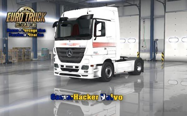 Mercedes MP3 Ralu Logistika White Skin