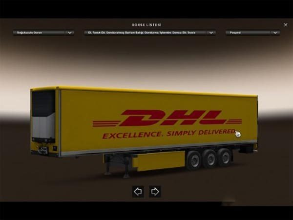 Scania RJL DHL Combo Skin Packs 1