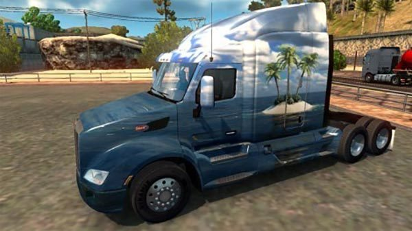 Skin Island for Peterlbilt 579