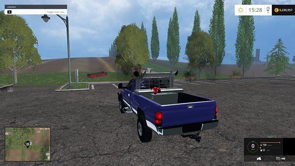 2500 Dodge Service Truck v 1.0 1