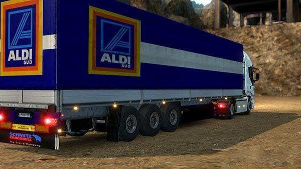 Aldi Semitrailer