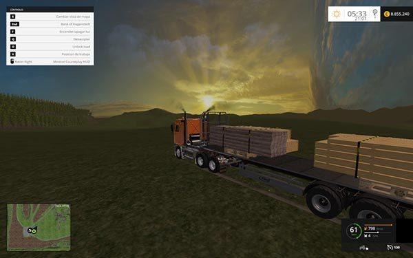 Fliegl Universal Semitrailer autoload v 1.0 [MP] 1