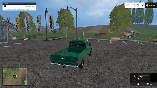 Ford F100 4X4 1970 v 1.0 1