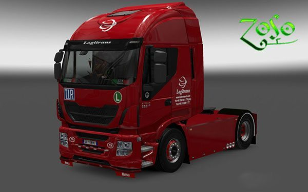 Iveco Hi Way Logitransport Skin