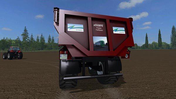 Krampe Dumper with Zingg Transporte logo v 0.1 1