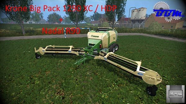 Krone Big Pack 1290 and Nadal R90 v 1.0 [MP]